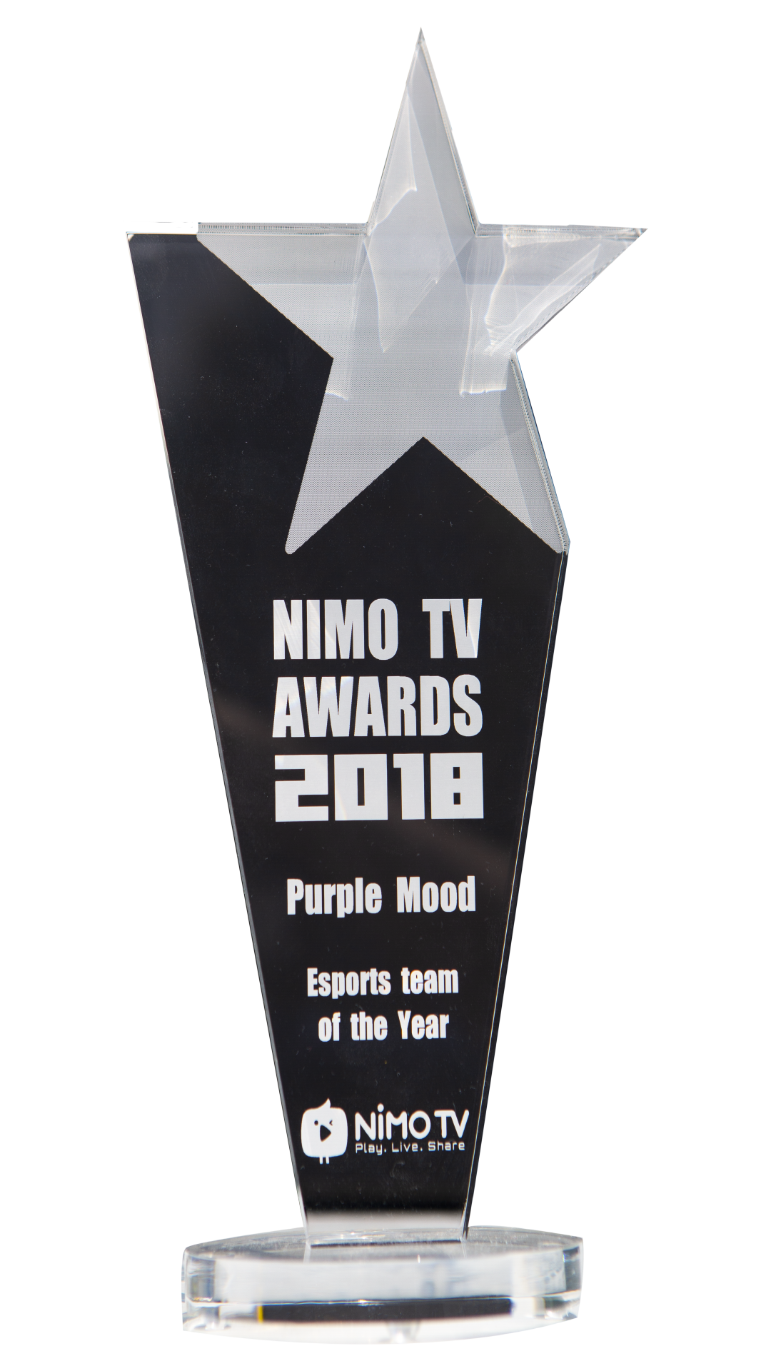 NIMO TV Award 2018 (E-SPORTS TEAM of the year)